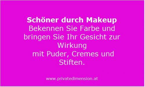 Schöner durch Makeup